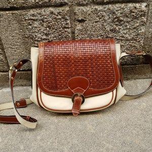 Bally Leather Crossbody Handbag Purse